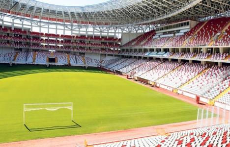 Antalya Stadı bugün açılıyor!