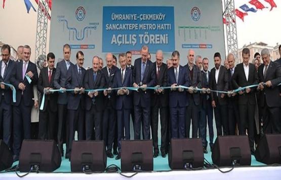 Üsküdar-Çekmeköy-Sancaktepe metrosunun 2. etabı açıldı!