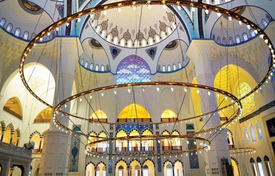 Çamlıca Camisi'ni aydınlatacak