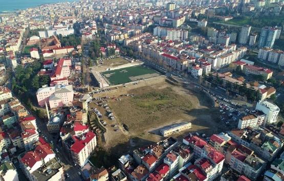 Trabzon'daki üç Millet Bahçesi'nin inşaatı bu yıl içerisinde başlıyor!