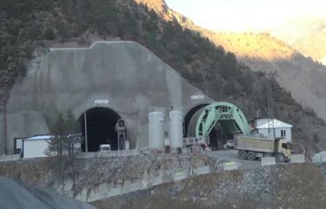 Yeni Zigana Tüneli'nin