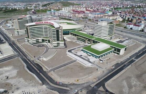 Erzurum Şehir Hastanesi'nin alt yapı ve çevre düzenlemesi çalışmaları yapılıyor!