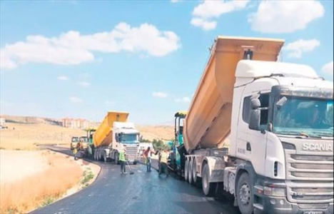 Ankara'da asfalt çalışmaları