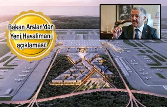 3. havalimanının yüzde 85'i tamamlandı!