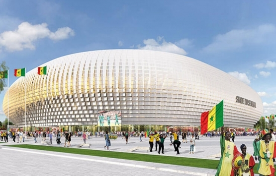 Senegal Stadyumu'nda Tabanlıoğlu Mimarlık imzası!