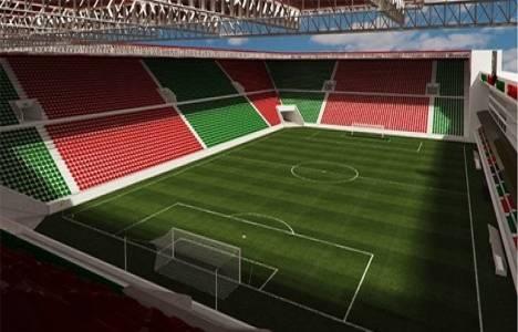 Karşıyaka Stadı'nda zemin