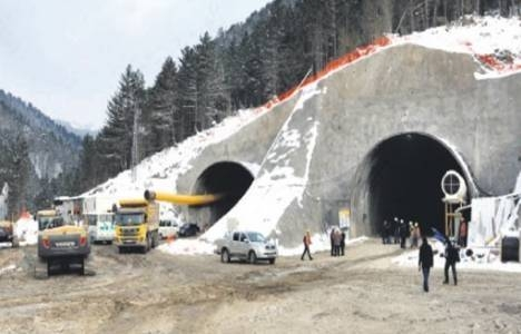 Çankırı Ilgaz Dağı Tüneli Nisan'da bitecek!