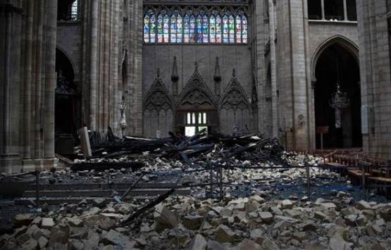 Notre Dame Katedrali'nin son hali böyle görüntülendi!