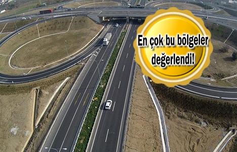 Gebze-Orhangazi-İzmir Otoyolu'yla arazi fiyatları fırladı!