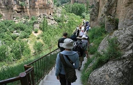 Kapadokya Ihlara Vadisi'ne