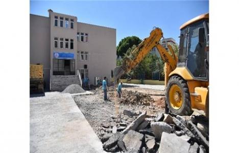 Alanya Belediyesi asfalt çalışması başlattı!