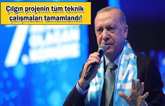 Cumhurbaşkanı Erdoğan: Kanal İstanbul'u inadına yapacağız!
