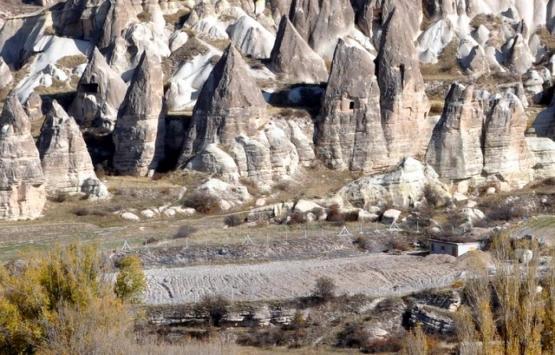 Kapadokya'da uydu görüntülerine