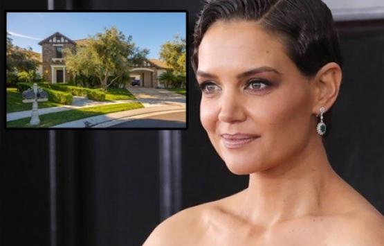 Katie Holmes Calabasas'taki malikanesini 4.6 milyon dolara satıyor!
