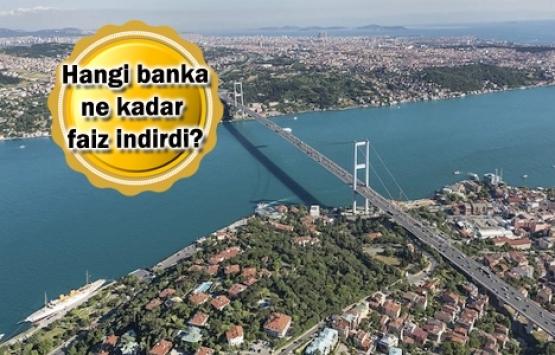 7 banka konut kredi faiz oranlarını indirdi!