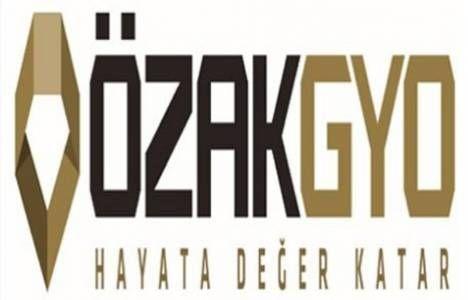 Özak GYO'nun yüzde 11 hissesi 70 milyon TL'ye satıldı!