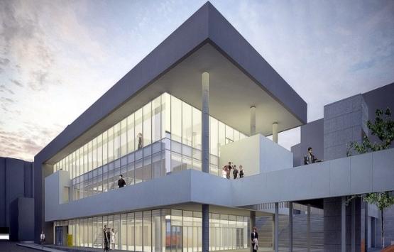 Yeşilyurt Kültür Merkezi'nin inşaatı tam gaz!