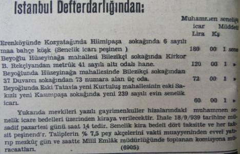 1939 yılında Kozyatağı'nda