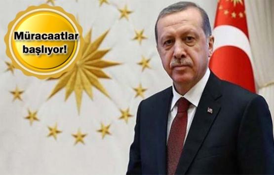 Cumhurbaşkanı Erdoğan'dan 2B
