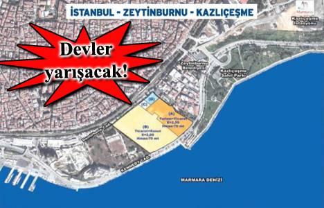 Emlak Konut Zeytinburnu Kazlıçeşme arsa ihalesi 24 Aralık'ta!