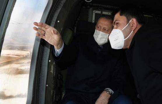 Cumhurbaşkanı Recep Tayyip Erdoğan Elazığ deprem konutlarını inceledi!