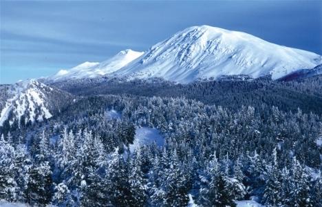 Ilgaz Dağı'ndaki kayak