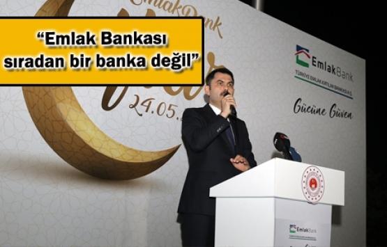 Emlak Bankası faiz lobisine cevap için ihdas edildi!