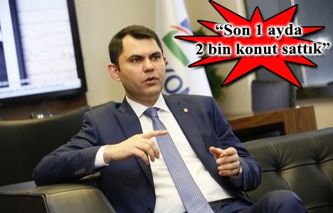 Murat Kurum konutta