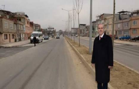 Bursa'daki alternatif yol 20 gün içinde trafiğe açılıyor!