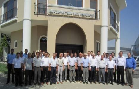 İznik Zeytin Tarım Satış Kooperatifi yeni binası hizmete açıldı!