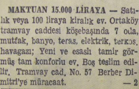1944 yılında Kızıltoprak'ta