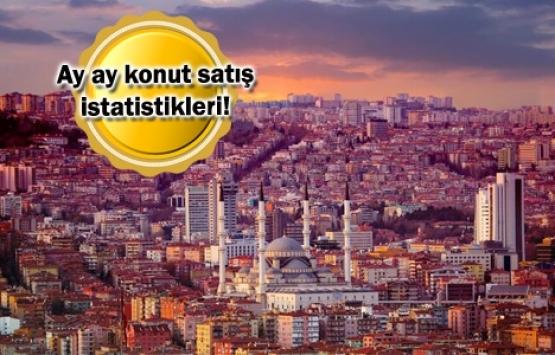 Ankara'da 2019'un ilk yarısında 48 bin 814 konut satıldı!