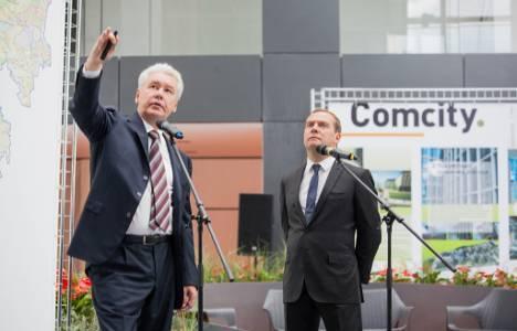 Rönesans İnşaat Comcity Projesi'ni Medvedev'e anlattı!
