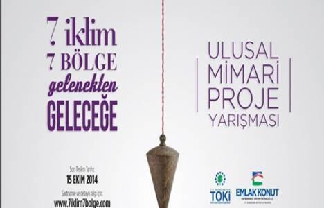 TOKİ'den 150 bin TL ödüllü proje yarışması!
