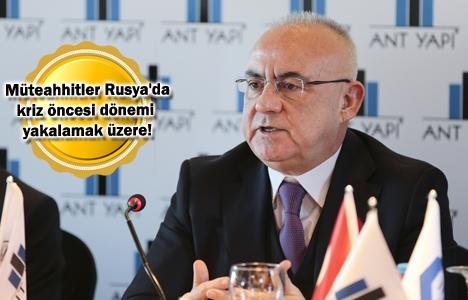 Türk müteahhitler Rusya'da yeni projeler almaya başladı!