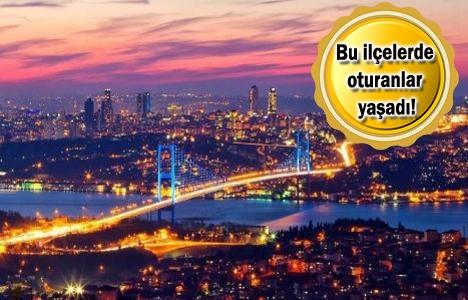İstanbul'un 19 ilçesine