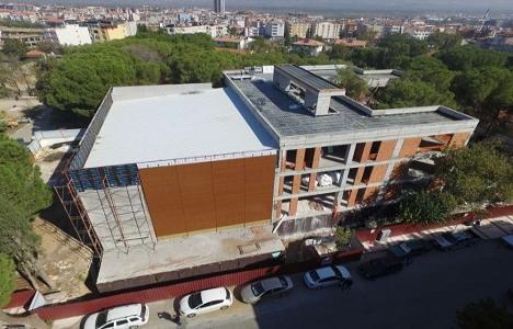 Manisa Alaşehir Gençlik Merkezi yükseliyor!