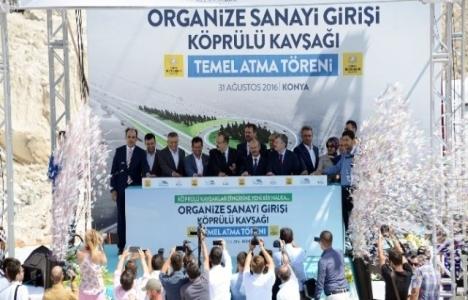 Konya Büyükşehir'den yeni köprülü kavşak!