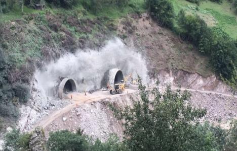 Yeni Zigana Tüneli'nde