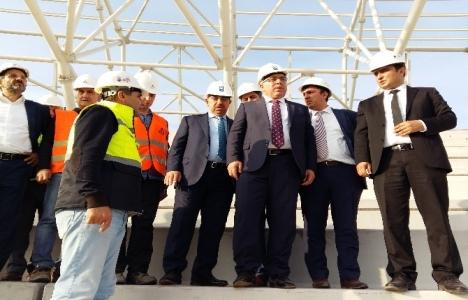 Mehmet Ergün Turan yeni Kocaeli Stadı'nı inceledi!