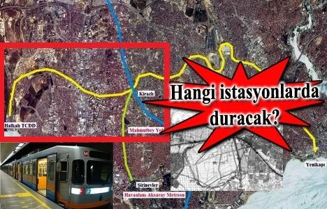 Kirazlı Halkalı metro