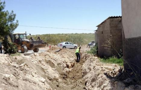 Şanlıurfa Birecik'te 26 mahallenin su problemi gideriliyor!