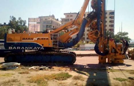 Karşıyaka Stadı'nın inşaatı