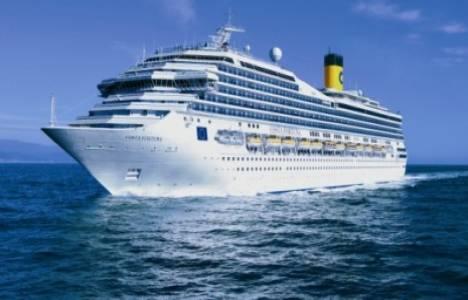 Kuşadası Limanı'na 2014 sezonunun ilk kruvaziyer gemisi geldi!