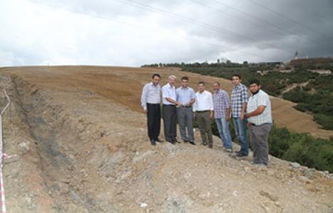 Gebze'ye 800 bin metreküplük hafriyat alanı!