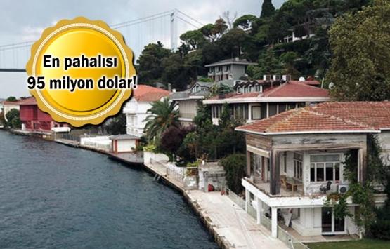 İstanbul Boğazı'nda 60 yalı satılmayı bekliyor!