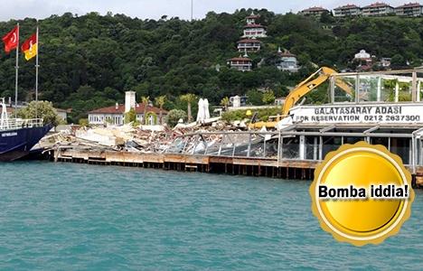 Galatasaray Adası satılacak