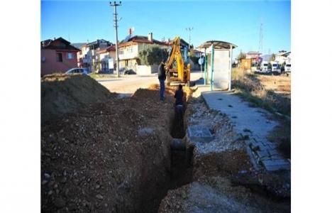 Bursa Örnekköy'e doğalgaz