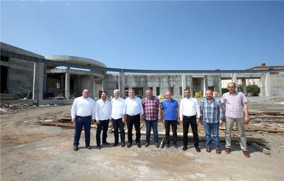 Karasu Sosyal Gelişim Merkezi'nin inşaatı tamamlanıyor!