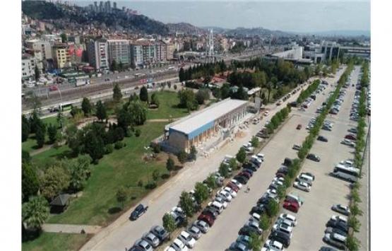 Kocaeli'de balıkçıların modern satış yerinde inşaat sürüyor!